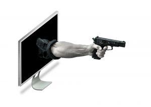 Theft through the screen