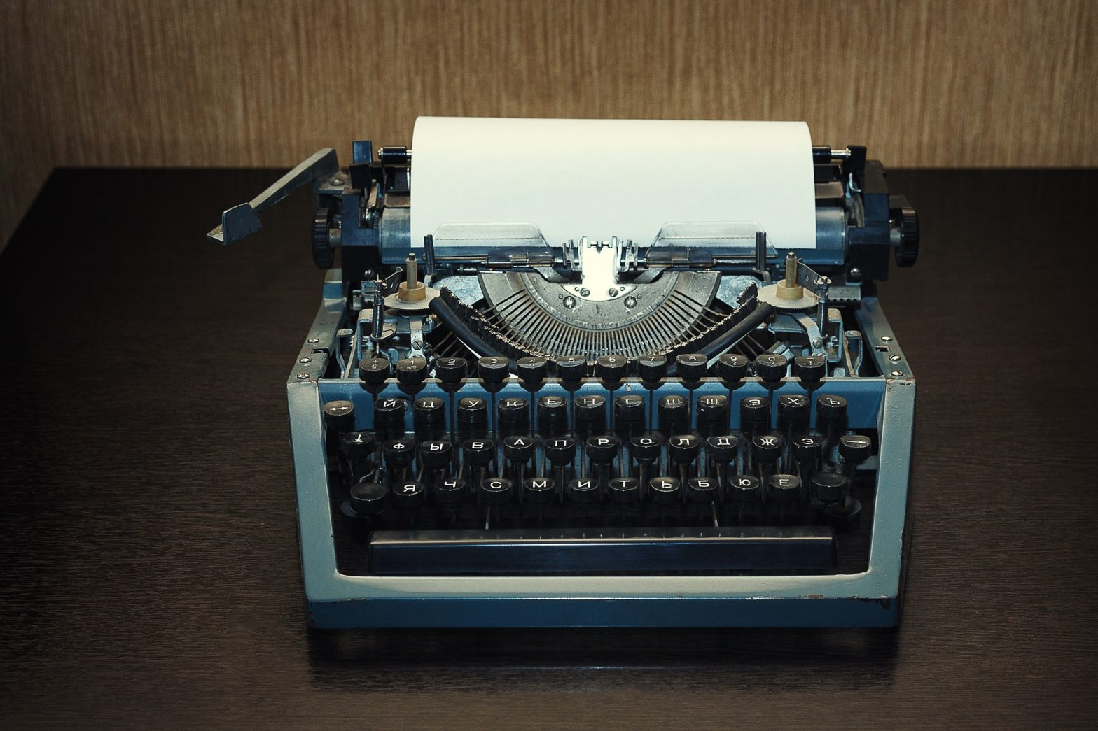 Might be time to upgrade the typewriter!