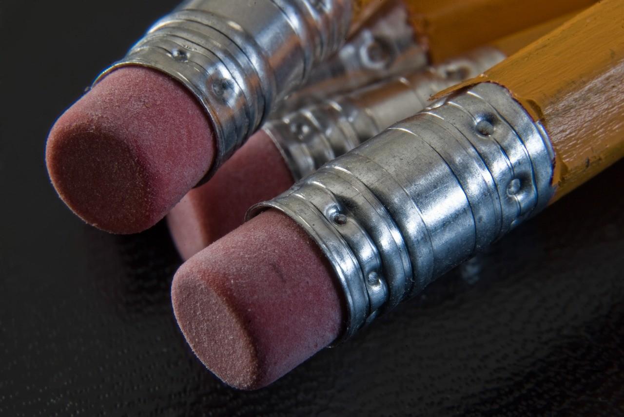 pencil erasers - revise erase repeat